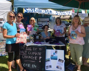 Sustainable Bishop information stall