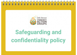 Safeguarding and Confidentiality Policy