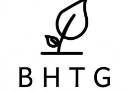 Blackdown Hills Transition Group logo with leaf illustration